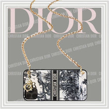 Load image into Gallery viewer, Christian Dior Style Black Shockproof Protective Designer iPhone Case For iPhone SE 11 Pro Max X XS Max XR 7 8 Plus - Casememe.com