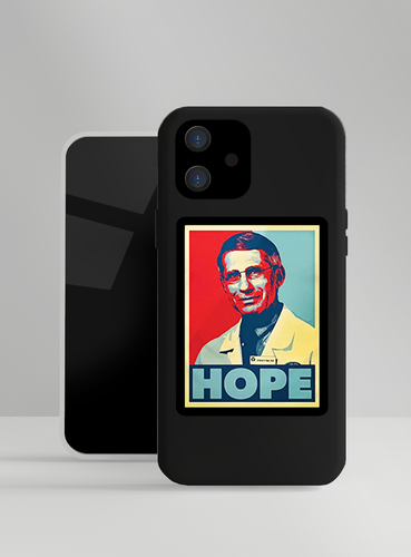 Antony Fauci Hope Designer iPhone Case For iPhone SE 11 Pro Max X XS Max XR 7 8 Plus - Casememe.com