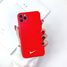 Load image into Gallery viewer, Nike Style Silicone Designer iPhone Case For iPhone 12 SE X XS XS Max XR 7 8 Plus - Casememe.com