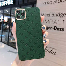 Load image into Gallery viewer, Louis Vuitton Style Soft Silicone Designer iPhone Case For iPhone SE 11 Pro Max X XS Max XR 7 8 Plus - Casememe.com