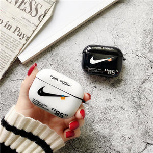 Nike x Air Jordan Style Glossy Protective Case For Apple Airpods 1 & 2 & Pro - Casememe.com