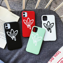 Load image into Gallery viewer, Adidas Style Silicone Protective Designer iPhone Case For iPhone 12 SE 11 Pro Max X XS Max XR 7 8 Plus - Casememe.com