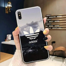 Load image into Gallery viewer, Adidas Style Original Matte Silicone Designer iPhone Case For iPhone SE 11 Pro Max X XS Max XR 7 8 Plus - Casememe.com