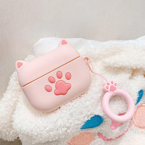 Cat Paw Silicone Protective Case For Apple Airpods Pro - Casememe.com