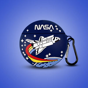 NASA Style Silicone Protective Case For Apple Airpods 1 & 2 - Casememe.com