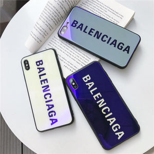 Best Stylish Balenciaga Paris Sports Tempered Glass Designer iPhone Case For iPhone 11 Pro Max X XS Max XR 7 8 Plus - Casememe.com