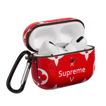 Load image into Gallery viewer, Supreme Style Luxury Leather Protective Case For Apple Airpods Pro - Casememe.com