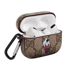 Load image into Gallery viewer, GC Style Donald Duck Leather Protective Case For Apple Airpods Pro - Casememe.com