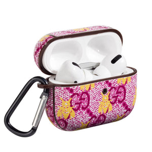 GC Style Pink Bee Protective Case For Apple Airpods Pro - Casememe.com