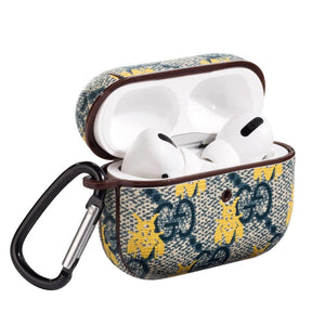 GC Style Navy Bee Protective Case For Apple Airpods Pro - Casememe.com