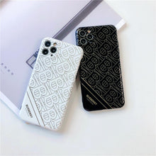 Load image into Gallery viewer, Burberry Style Electroplating Glossy TPU Silicone Designer iPhone Case For iPhone 12 SE 11 Pro Max X XS XS Max XR 7 8 Plus - Casememe.com
