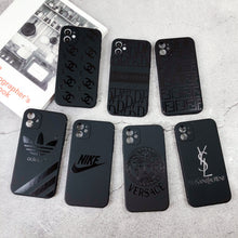 Load image into Gallery viewer, Fendi Style Silicone Shockproof Protective Designer iPhone Case For iPhone 12 SE 11 Pro Max X XS Max XR 7 8 Plus - Casememe.com