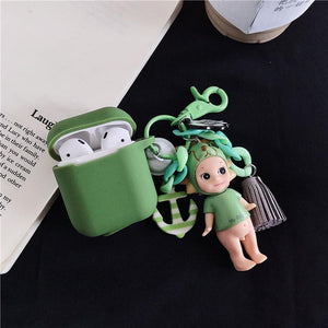 My Angel Doll Silicone Protective Shockproof Case For Apple Airpods 1 & 2