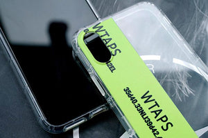 WTAPS Style Clear Soft SiliconeShockproof Protective Designer iPhone Case For iPhone SE 11 Pro Max X XS Max XR 7 8 Plus - Casememe.com