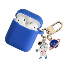 Load image into Gallery viewer, NASA Astronaut Space Silicone Protective Shockproof Case For Apple Airpods 1 & 2 - Casememe.com