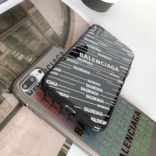 Load image into Gallery viewer, Balenciaga Style Trendy Silicone Designer iPhone Case For iPhone SE 11 Pro Max X XS Max XR 7 8 Plus - Casememe.com