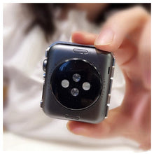 Load image into Gallery viewer, Diamond Bling Hard Frame Compatible With Apple Watch Case 38mm 40mm 42mm 44mm For iWatch Series 4/3/2/1 - Casememe.com