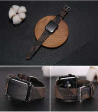 Load image into Gallery viewer, Burberry Style Plaid Leather Compatible With Apple Watch 38mm 40mm 42mm 44mm Band Strap For iWatch Series 4/3/2/1 - Casememe.com