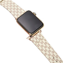 Load image into Gallery viewer, GC Classic Leather Compatible With Apple Watch 38mm 40mm 42mm 44mm Band Strap For iWatch Series 4/3/2/1 - Casememe.com