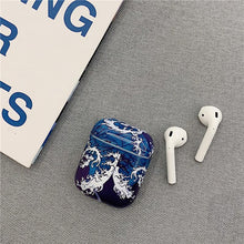 Load image into Gallery viewer, The Great Wave off Kanagawa Ukiyo-e Hard Protective Shockproof Case For Apple Airpods 1 & 2 - Casememe.com