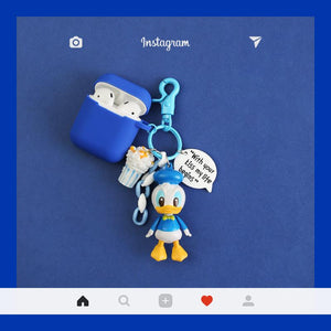 Daisy Donald Duck Disney Silicone Protective Shockproof Case For Apple Airpods 1 & 2 - Casememe.com