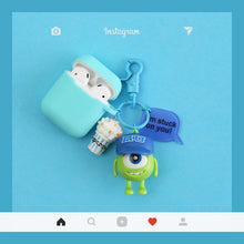 Load image into Gallery viewer, Monsters University Silicone Protective Shockproof Case For Apple Airpods 1 & 2 - Casememe.com