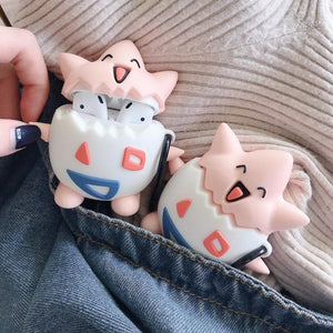 Cute Togepi Silicone Protective Case For Apple Airpods 1 & 2 - Casememe.com
