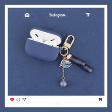 Load image into Gallery viewer, Sky Keychain Matte Silicone Protective Case For Apple Airpods Pro - Casememe.com