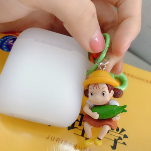 Hayao Miyazaki Style My Neighbor Totoro Silicone Protective Shockproof Case For Apple Airpods 1 & 2 - Casememe.com