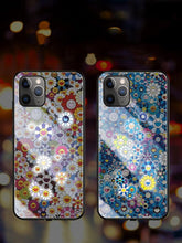 Load image into Gallery viewer, Takashi Murakami Style Floral Illuminating Shockproof Protective Designer iPhone Case For iPhone SE 11 Pro Max X XS Max XR 7 8 Plus - Casememe.com