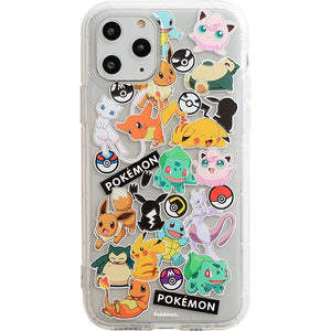 Pikachu Style Clear Silicone Shockproof Protective Designer iPhone Case For iPhone SE 11 Pro Max X XS Max XR 7 8 Plus - Casememe.com