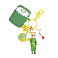 Load image into Gallery viewer, The Little Prince Style Keychain Silicone Protective Case For Apple Airpods 1 & 2 - Casememe.com