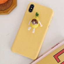Load image into Gallery viewer, CarrotMan Furry Shockproof Protective Designer iPhone Case For iPhone SE 11 Pro Max X XS Max XR 7 8 Plus - Casememe.com