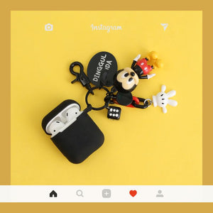 Disney Mickey Minnie Mouse Silicone Protective Shockproof Case For Apple Airpods 1 & 2 - Casememe.com