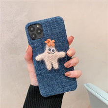 Load image into Gallery viewer, Fabric Patrick Star Shockproof Protective Designer iPhone Case For iPhone SE 11 Pro Max X XS Max XR 7 8 Plus - Casememe.com