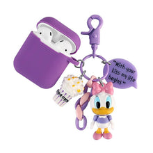 Load image into Gallery viewer, Daisy Donald Duck Disney Silicone Protective Shockproof Case For Apple Airpods 1 & 2 - Casememe.com