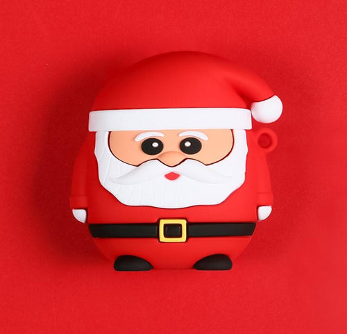 Santa Claus Silicone Protective Case For Apple Airpods Pro - Casememe.com