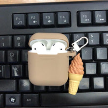 Load image into Gallery viewer, Ice Cream Popsicle Sweet Silicone Protective Shockproof Case For Apple Airpods 1 & 2 - Casememe.com