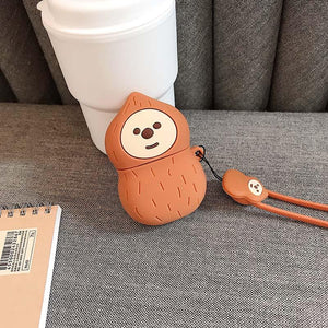 Peanut Man Silicone Protective Case For Apple Airpods Pro - Casememe.com