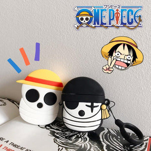 The One Piece Style Silicone Protective Case For Apple Airpods 1 & 2 - Casememe.com