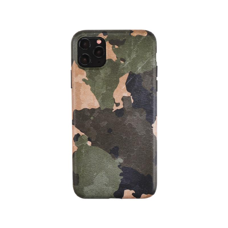 Camouflage Matte Minimalism Silicone Shockproof Protective Designer iPhone Case For iPhone SE 11 Pro Max X XS Max XR 7 8 Plus - Casememe.com
