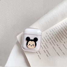 Load image into Gallery viewer, Disney Mickey Minnie Mouse Hard Clear Protective Shockproof Case For Apple Airpods 1 & 2 - Casememe.com