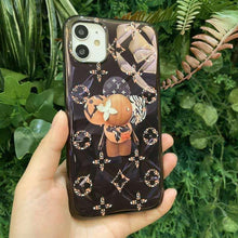 Load image into Gallery viewer, Takashi Murakami x Louis Vuitton Style Glossy Protective Designer iPhone Case For iPhone SE 11 Pro Max X XS Max XR 7 8 Plus - Casememe.com