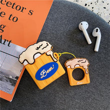 Load image into Gallery viewer, Beer Pong Silicone Protective Shockproof Case For Apple Airpods 1 & 2 - Casememe.com