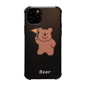 Bear Corner Protection Shockproof Protective Designer iPhone Case For iPhone SE 11 Pro Max X XS Max XR 7 8 Plus - Casememe.com