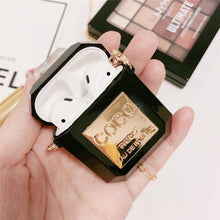 Load image into Gallery viewer, COCO Luxury Perfume Bottle AirPods Protective Shockproof Silicone TPU Case Cover For Apple Airpods 1 & 2 - Casememe.com