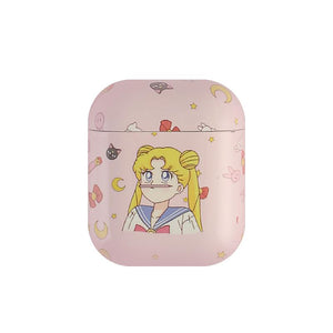 Sailor Moon Usagi Tsukino Hard Protective Shockproof Case For Apple Airpods 1 & 2 - Casememe.com