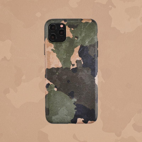 Camouflage Matte Minimalism Silicone Shockproof Protective Designer iPhone Case For iPhone 12 SE 11 Pro Max X XS Max XR 7 8 Plus - Casememe