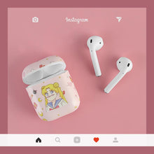 Load image into Gallery viewer, Sailor Moon Usagi Tsukino Hard Protective Shockproof Case For Apple Airpods 1 & 2 - Casememe.com