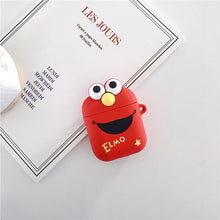 Load image into Gallery viewer, Sesame Street Elmo Cookie Silicone Protective Shockproof Case For Apple Airpods 1 & 2 - Casememe.com